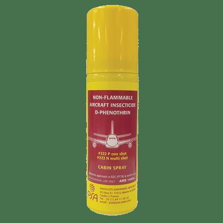 Insecticide D-Phenothrine spécial pour usage aéronautique