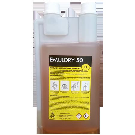 Emuldry 50 et Emuldry 5O RTU insecticide rémanent efficace sur insectes