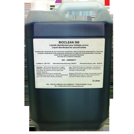 Bio clean en dilution pour le traitement des sanitaires de bord | PSA