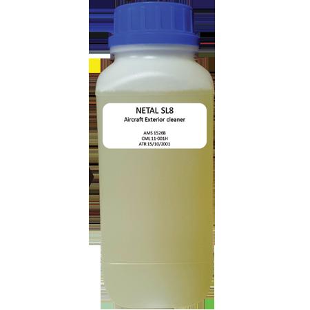 Netal SL8 Détergent liquide neutre qui n'altère pas les supports| PSA